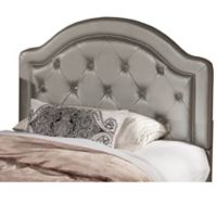 Hillsdale Karley Full Headboard with Frame in Silver