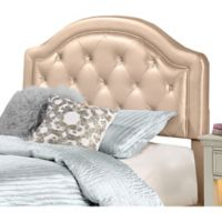 Hillsdale Karley Full Headboard with Frame in Champagne