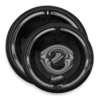 Range Kleen 2-Pack Style B Porcelain Drip Pan