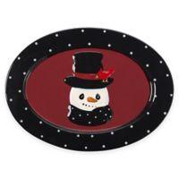 Precious Moments® Snow Much Fun Snowman Platter