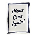 "kate spade new york All in Good Taste™ Order's Up ""Please Come Again!"" Small Tray"