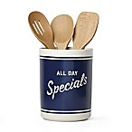 "kate spade new york All in Good Taste™ Order's Up ""All Day Specials"" Utensil Crock"
