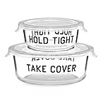 kate spade new york All in Good Taste™ 2-Piece Covered Food Storage Set