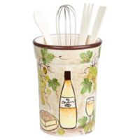 Lorren Home Trends White Grape 5-Piece Utensil Set