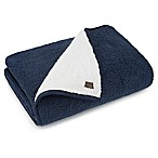 UGG® Classic Sherpa Throw Blanket in Navy