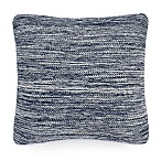 UGG® Melange Knit Square Throw Pillow in Navy
