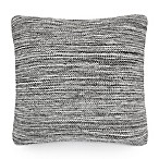 UGG® Melange Knit Square Throw Pillow in Charcoal