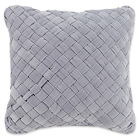 image of Vera Bradley® Woven Velvet Square Throw Pillow