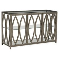 Standard Furniture Santa Barbara Console Table in Champagne