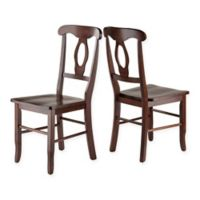 Renaissance Dining Chairs in Walnut (Set of 2)
