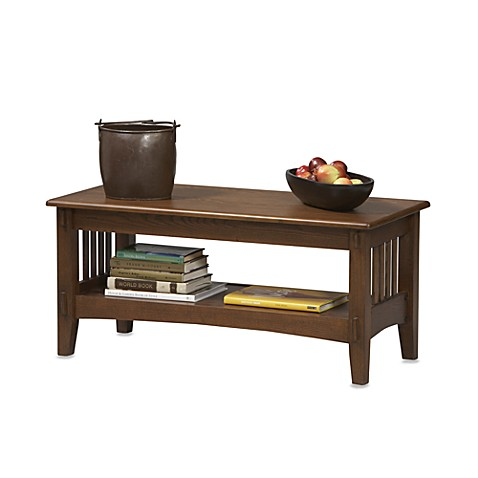 Linon Mission Style Coffee Table Bed Bath Beyond
