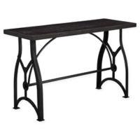 Pulaski Tiburon Wood and Metal Sofa Table