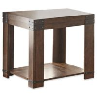 Steve Silver Co. Arusha End Table in Brown