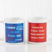All-Star Coach 11 oz. Coffee Mug in White