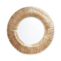 Charge It by Jay! Nilo Glass Charger Plate in Rose Gold