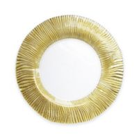 Charge It by Jay! Nilo Glass Charger Plate in Gold