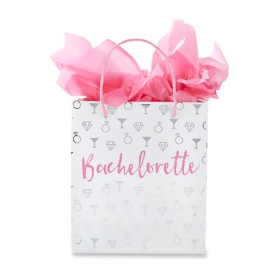 Buy decorative gift bags from bed bath beyond kate aspen 12 pack bachelorette gift bags negle Image collections