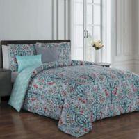 Avondale Manor Trista 5-Piece Reversible Queen Comforter Set in Multi