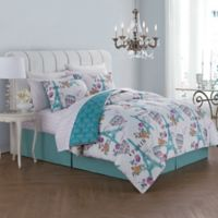 Avondale Manor Darcy 8-Piece Reversible King Comforter Set in Orchid