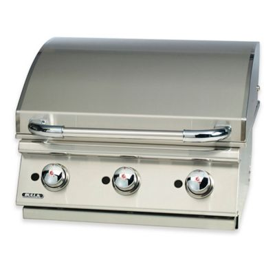 bull builtin 3burner natural gas griddle in stainless steel