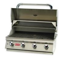 BULL® Lonestar Select 4-Burner Liquid Propane Drop-In Grill in Stainless Steel