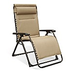 Never Rust Aluminum Oversized Adjustable Relaxer in Tan
