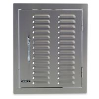 BULL® Vented Fire Feature Door in Stainless Steel