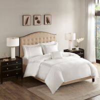 Madison Park Signature Luxury Collection Embroidered Full/Queen Comforter Set in Grey
