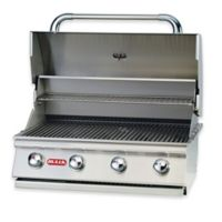 BULL® Outlaw 4-Burner Liquid Propane Drop-In Grill in Stainless Steel