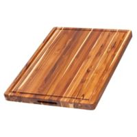 Artisanal Kitchen Supply 18-Inch x 14-Inch Teak Wood Cutting Board