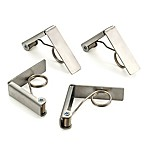 RSVP Endurance Stainless Steel Tablecloth Clips (Set of 4)