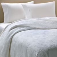 Barbara Barry® Arroyo Queen Coverlet in White