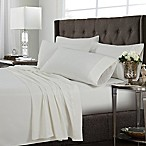 Tribeca Living Solid King Sheet Set in Ivory