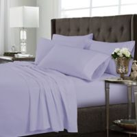 Tribeca Living Solid Full Sheet Set in Lavender