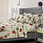 Tribeca Living Floral Queen Sheet Set