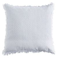 DKNYpure Stripe European Pillow Sham in Blue