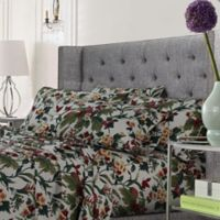 Tribeca Living Tropical Garden King Sheet Set