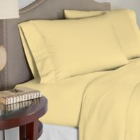 Pointehaven 200 GSM Flannel King Sheet Set in Straw