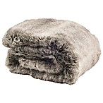 Safavieh Wavy Luxe Throw Blanket in Grey
