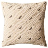 Safavieh Silver Mint Sparkles Square Throw Pillow in Beige/Green