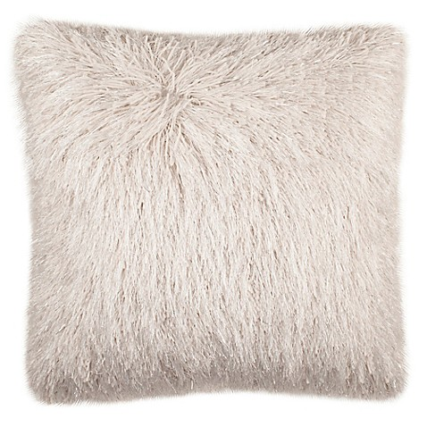 image of Safavieh Shag Modish Square Throw Pillow