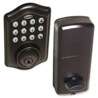 Honeywell Electronic Entry Deadbolt Door Lock with Keypad in Oil Rubbed Bronze