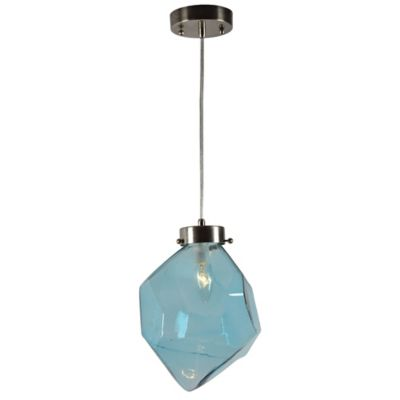 blue lighting gumball glass custom file steel pendant providence product page globe pawtucket and blown art hand lights