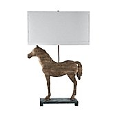 Carved horse table lamp bed bath beyond carved horse table lamp aloadofball Gallery