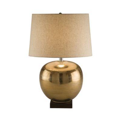 Brass Ball Table Lamp