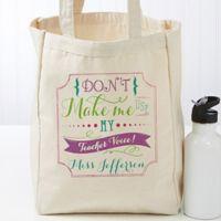 Teacher Quotes Petite Canvas Tote Bag