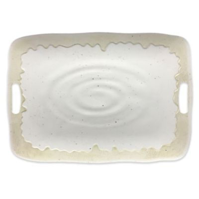 Valencia Rectangular Serving Tray in Cream  sc 1 st  Bed Bath \u0026 Beyond & Buy Plastic Serving Trays from Bed Bath \u0026 Beyond