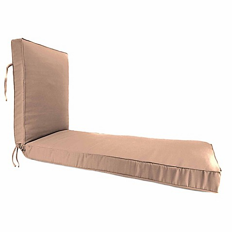 80 inch x 23 inch chaise lounge cushion in sunbrella cast for Bathroom chaise lounge