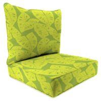 Print 2-Piece Deep Seat Chair Cushion in Sunbrella® Radiant Kiwi