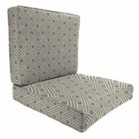 Print 46-Inch x 25-Inch 2-Piece Deep Seat Chair Cushion in Sunbrella® Integrated Steel
